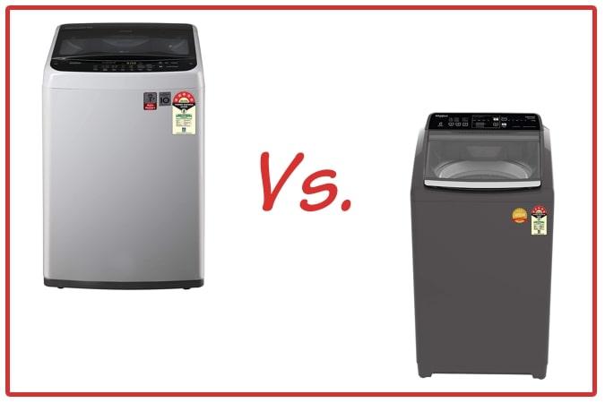 LG T70SPSF2Z and Whirlpool Royal Plus Washing Machine Comparison.