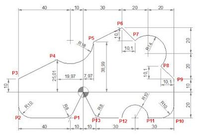 CNC Programming Examples - G02 G03 R