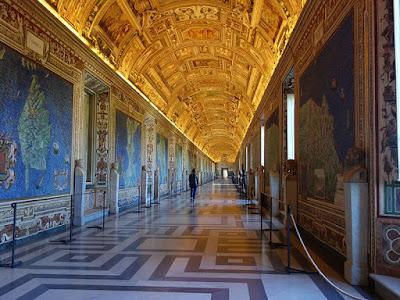 A Galeria dos Mapas dos Museus Vaticanos