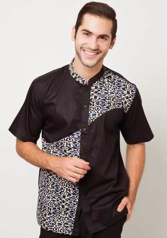 Trend Busana Batik Muslim Pria Desain Terbaru