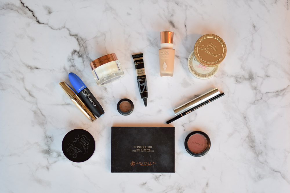 20 minute make-up routine products.