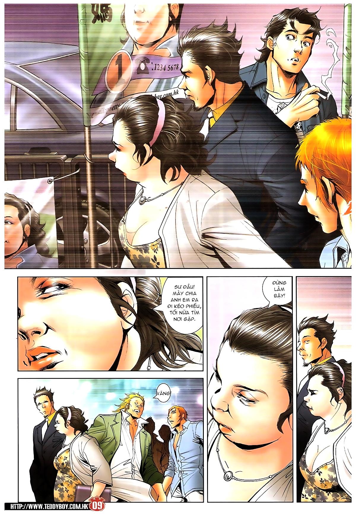 Người Trong Giang Hồ chapter 1643: tuyển cử cấp bách trang 7
