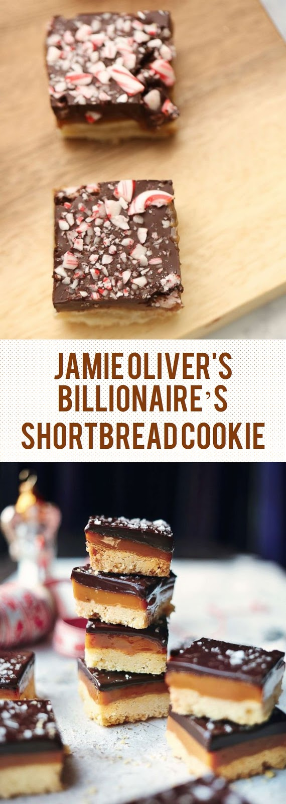 Jamie Oliver's Billionaire's Shortbread Cookie