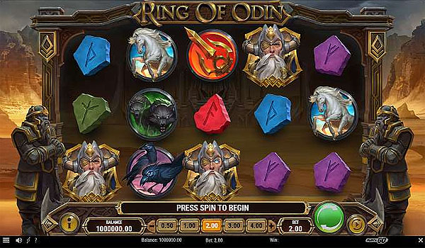 Main Slot Indonesia - Ring of Odin (Play N Go)