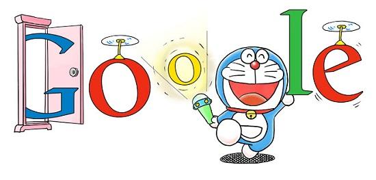 Google doodle doraemon