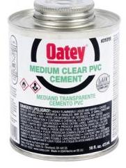 PVC Medium Clear Cement