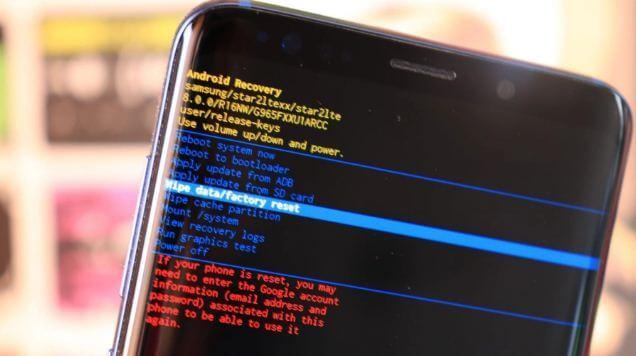 إعادة, ضبط, المصنع, لجهاز, جالكسي, Samsung S8 +