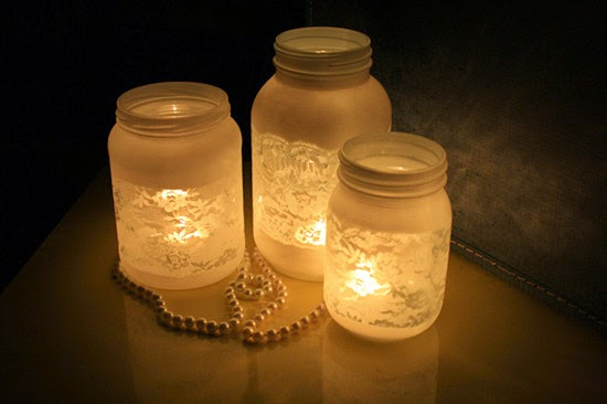brides mason jar wedding reception decor centerpieces craft ideas