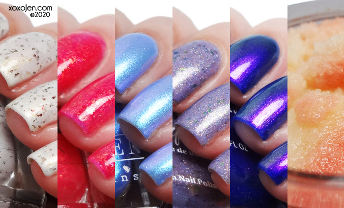 xoxoJen's swatch of Polish Pick Up: June 2020 collage