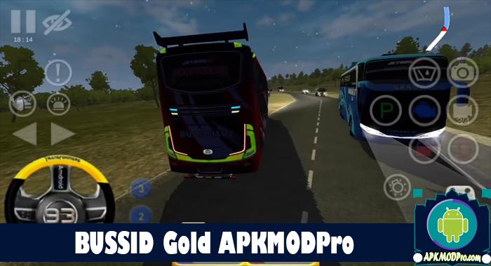 Download BUSSID GOLD V2 MOD APK Terbaru 2020 Traffic Ramai dan Ngebut