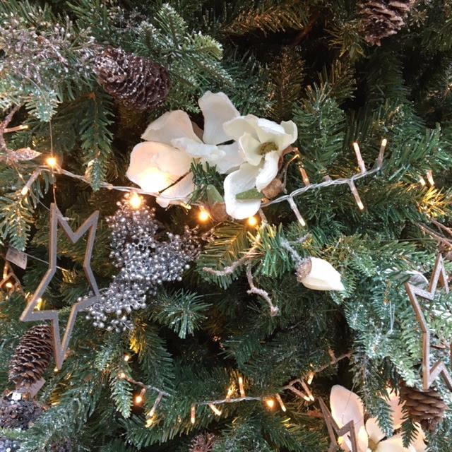 kerstboom in wit