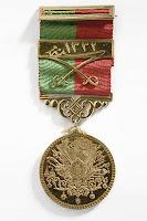 Bir Osmanlı liyakat madalyası