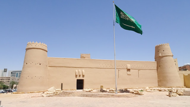 The Fortress in Riyadh is a leftover of a huge castle through whole Riyadh