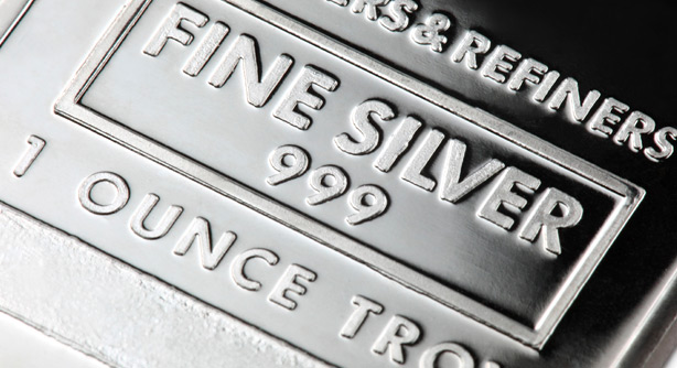 Silver is sliding down after hitting high of $15.55