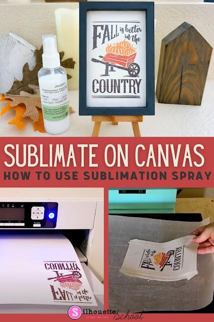 silhouette 101, silhouette america blog, reverse canvas, sublimation, heat press