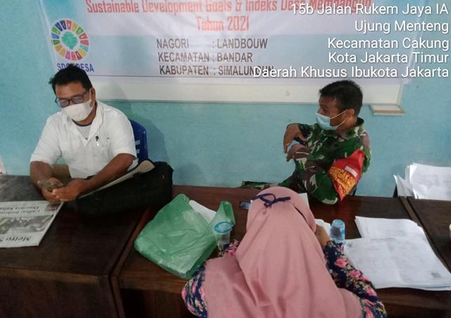 Dengan Cara Komunikasi Sosial Personel Jajaran Kodim 0207/Simalungun Jalin Silaturahmi Dengan Manager PT Liga