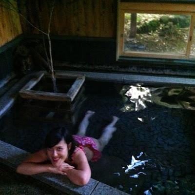 Aller se baigner dans un Onsen au Japon