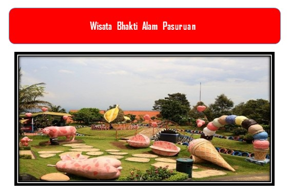 Wisata Bhakti Alam Pasuruan