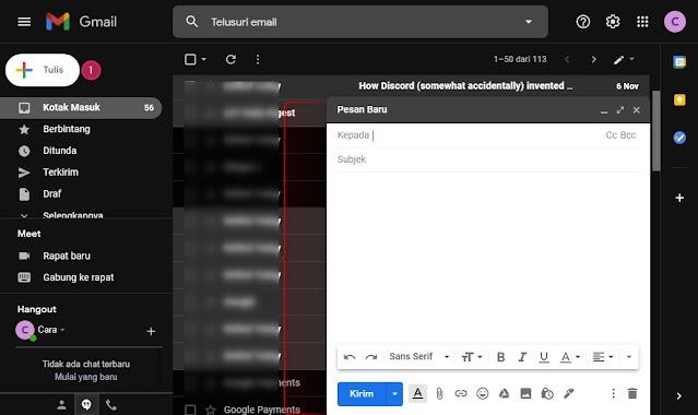 Cara Mengirim Email lewat Gmail yang baik