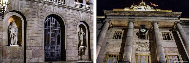 Fachada do Palau de la Generalitat, Barcelona