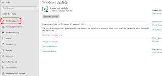 طريقة تحديث نظام مايكروسوفت Windows 10 لعام 2019 تحديث مايو 2019 لويندوز 10″ Windows 10 May 2019 Update تحديث مايكروسوفت 2019 من ويندوز 10 للجميع تحديث ويندوز 10 الاخير  تعرف على ميزات تحديث مايكروسوفت Windows 10 May 2019 ويندوز