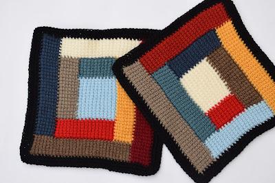 2 - Crochet Imagen Colcha de restos de lana a crochet y ganchillo por Majovel Crochet