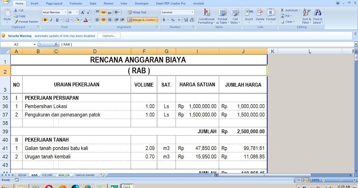 Bagaimana Cara Membuat Rencana Anggaran Biaya (RAB)