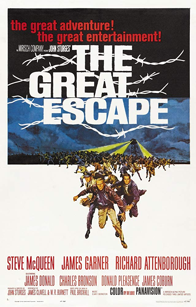 The Great Escape 1963 English Movie Bluray 720p With Bangla Subtitle
