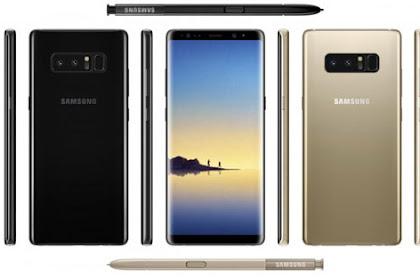 Spesifikasi Samsung Galaxy Note 8 Terbaru 2018