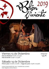 Mairena del Aljarafe (Colegio Santa María del Valle) - Belén Viviente 2019