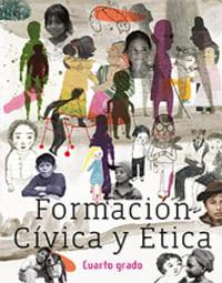 Libro de texto  Formación Cívica y Ética Cuarto grado 2020-2021
