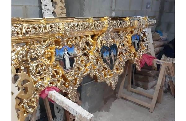 Estrenos dorados en la Hermandad de la Cena de Huelva