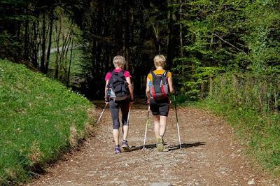 Nordic walking women