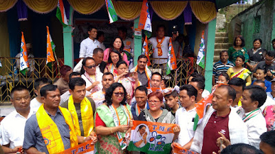 GJMM Supporter joins TMC in Mungpoo