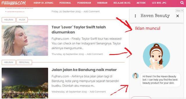 Kenapa iklan Adsense tidak muncul di blogger