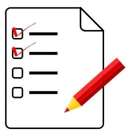 goal Done list or Checklist goal