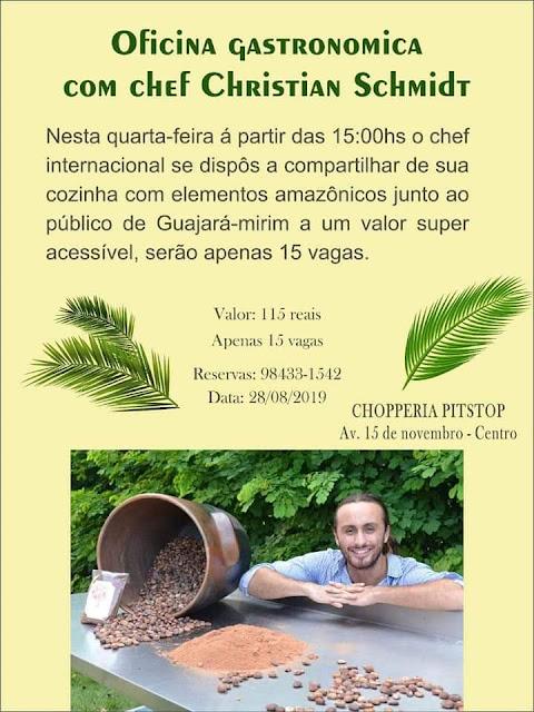 Masterchef da Amazônia promove evento com pratos regionais em Guajará-Mirim