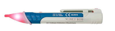 ¿Qué es un detector de voltaje eléctrico AC sin contacto? | Detector de tension tipo lapiz | Características + Precios