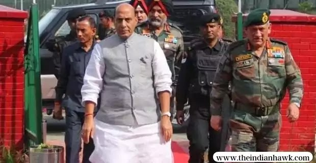 India Supports Peace but Can Give a Befitting Reply: Rajnath Singh