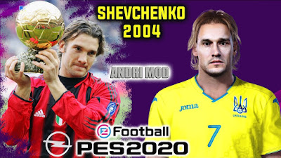 PES 2020 Faces Andriy Shevchenko by Andri Mod