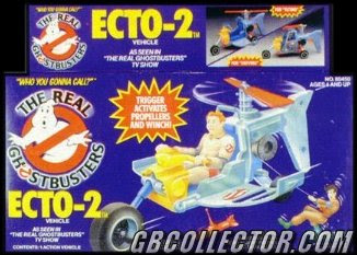 The REAL Ghostbusters Kenner Ecto-2 Vehicle