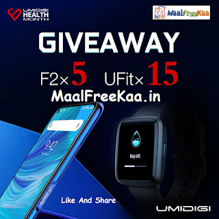 Umidigi U Fit And 5 units Umidigi F2 for FREE