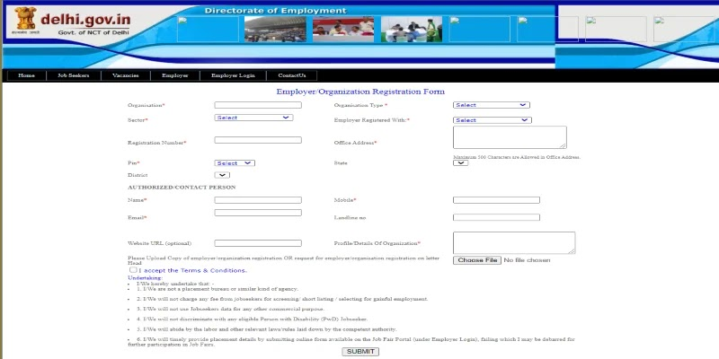 (रजिस्ट्रेशन) दिल्ली रोजगार मेला 2021   delhi rojgar yojana ऑनलाइन आवेदन दिल्ली जॉब फेयर   सरकारी योजनाएँ
