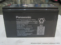 Valve Regulated Lead-Acid Battery Panasonic LC-V127R2NA1 (12V, 7,2AH/20HR)
