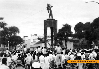 Tượng đài Hai Bà Trưng trong cuộc đảo chính năm 1963