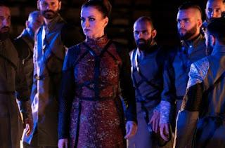 """""""Πέρσες"""" του Αισχύλου, σε σκηνοθεσία Άρη Μπινιάρη."""