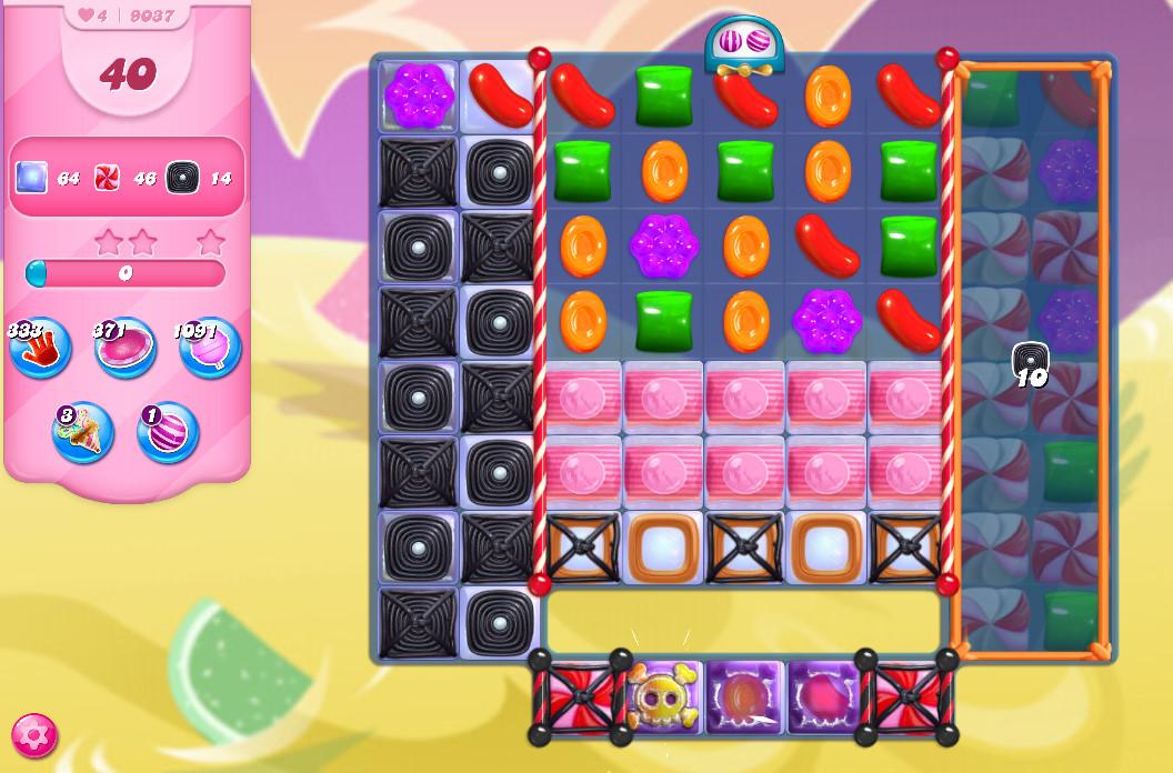 Candy Crush Saga level 9037