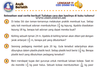 Kunci Jawaban Halaman 33 Matematika Kelas 5 Kurikulum 2013 www.simplenews.me