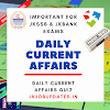 Don't Miss! 20th July Most Important Current Affairs MCQ'S for JKSSB and JK Bank Exams.