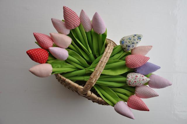 Tulipanki na dzień kobiet